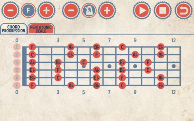 Rock Guitar Jam Tracks screenshot 3
