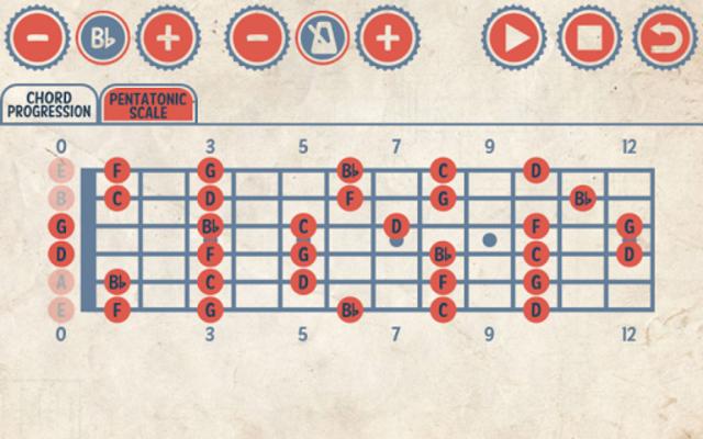 Rock Guitar Jam Tracks screenshot 5