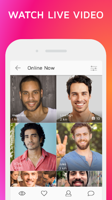 Live Video Chat – CURLY screenshot 2