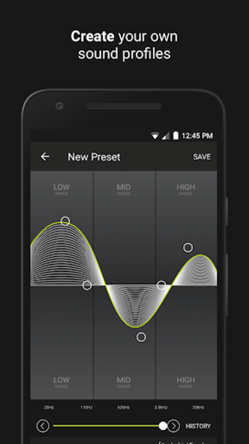 Jaybird MySound screenshot 2