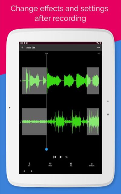 Voloco: Auto Voice Tune + Harmony screenshot 14