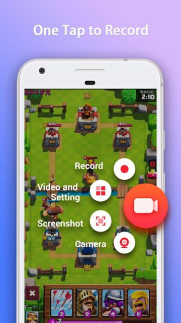 GO Recorder – Screen Recorder, Video Editor screenshot 1