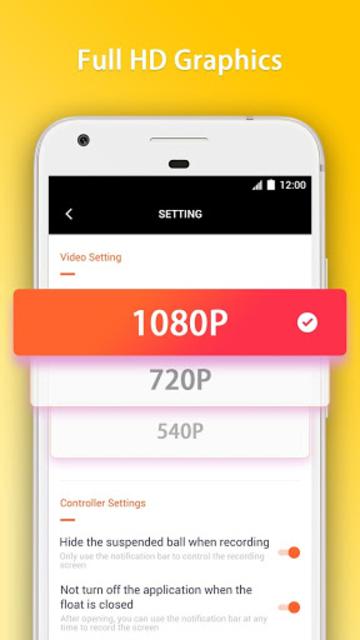 GO Recorder – Screen Recorder, Video Editor screenshot 6