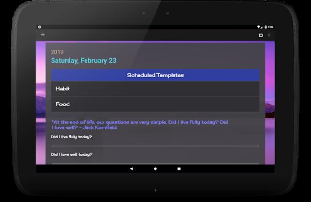CustomJournal - Flexible Structured Journal screenshot 9