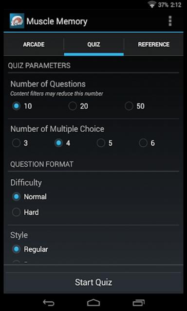 Muscle Memory screenshot 1