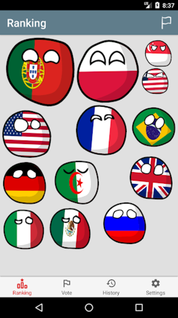 Flags War screenshot 1
