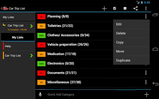 Car Trip Planner screenshot 7