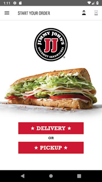 Jimmy John's Sandwiches screenshot 1