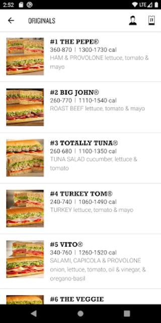 Jimmy John's Sandwiches screenshot 4