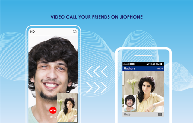 JioChat: HD Video Call screenshot 1