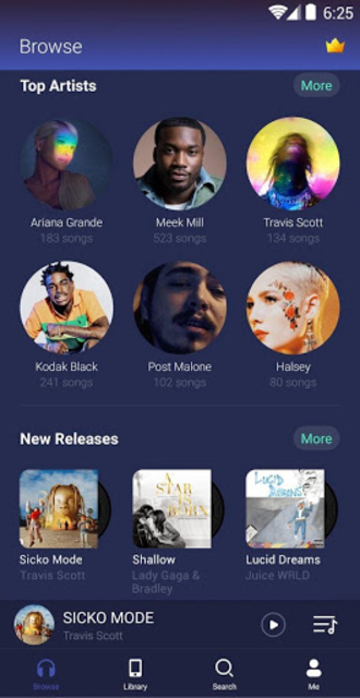 GO Music  -  Free Music, Equalizer, Themes screenshot 2