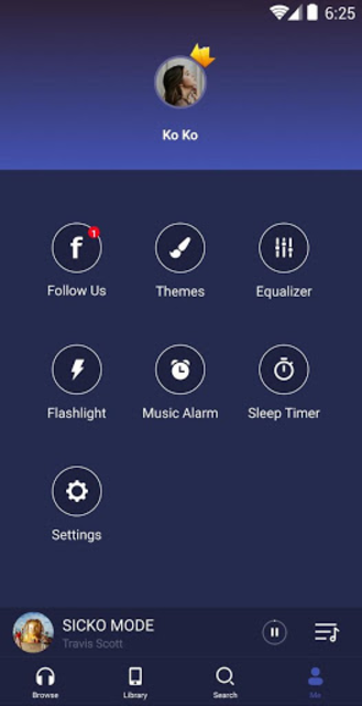 GO Music  -  Free Music, Equalizer, Themes screenshot 8