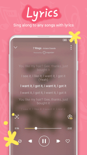 GO Music - Offline & online music, free MV, MP3 screenshot 5