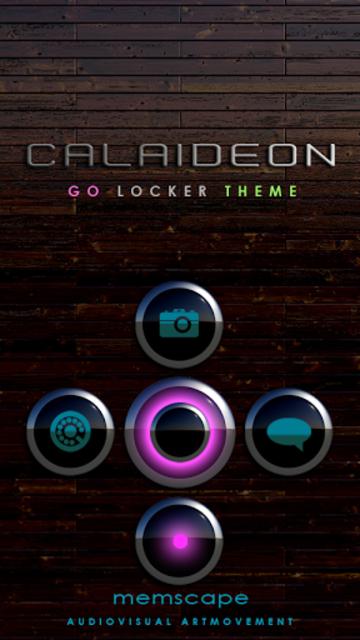 CALAIDEON Go locker Theme screenshot 1