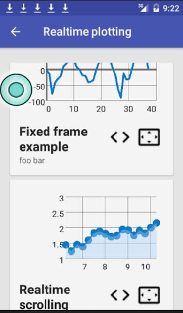 GraphView Demos screenshot 2