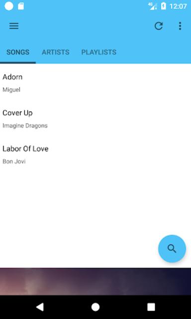 DSP Music Player Pro screenshot 1
