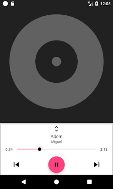 DSP Music Player Pro screenshot 2