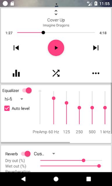 DSP Music Player Pro screenshot 3