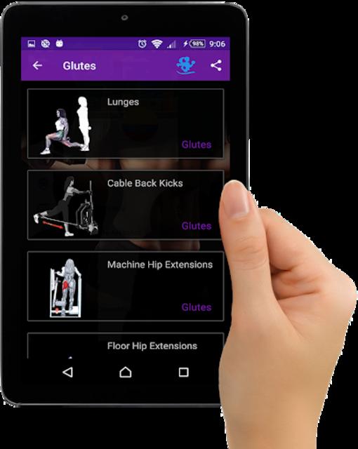 Gym Fitness & Workout Women : Personal trainer screenshot 11