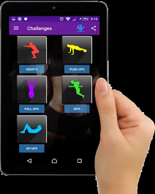 Gym Fitness & Workout Women : Personal trainer screenshot 16