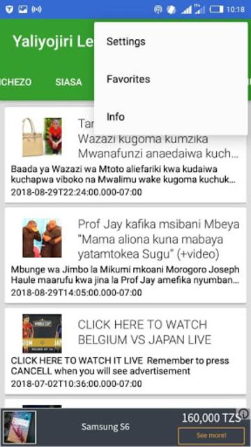 WAKUBWA TU (MAPENZI, MICHEZO, SIASA, VIDEO, ELIMU) screenshot 3