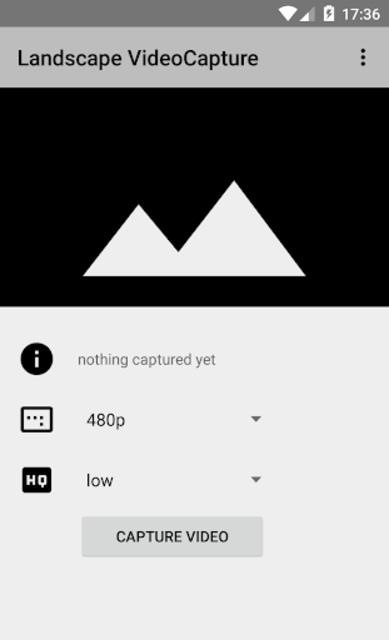 Landscape video camera screenshot 1