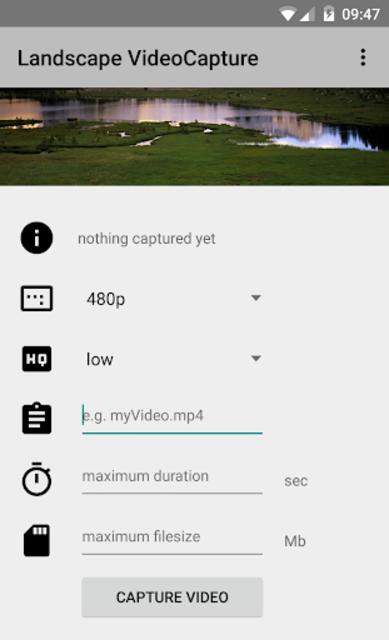 Landscape video camera screenshot 6