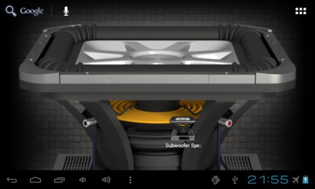 Subwoofer Speaker Wallpaper screenshot 9