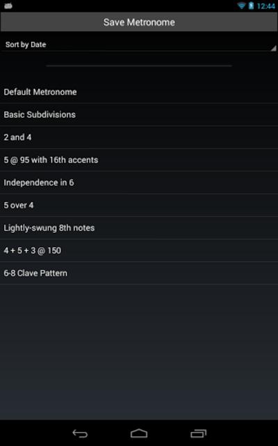 Metronomics Metronome screenshot 9