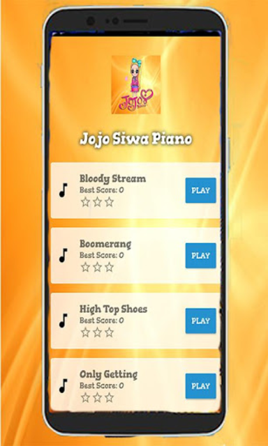 Jojo Siwa Piano Tiles Game screenshot 1
