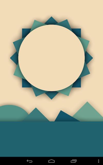 Minima Live Wallpaper screenshot 1