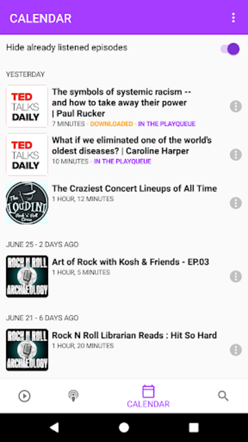 Podcasts Tracker - Podcast management made easy screenshot 5