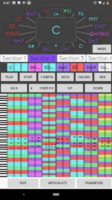 Topologica screenshot 2