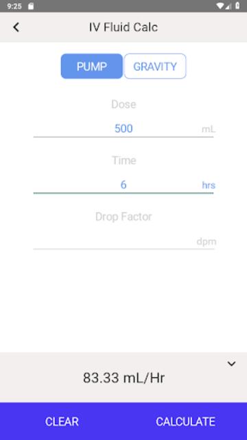 IV Infusion Calculator screenshot 17