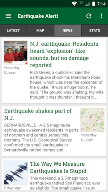 Earthquake Alert! screenshot 2