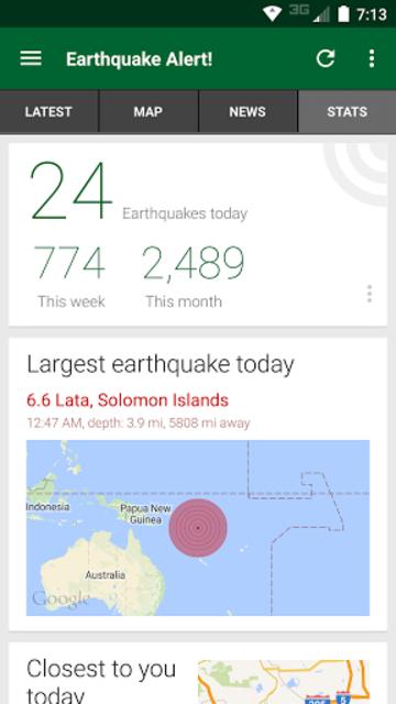 Earthquake Alert! screenshot 3