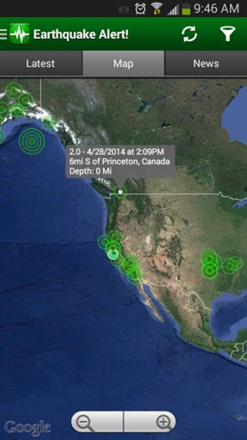 Earthquake Alert! screenshot 4