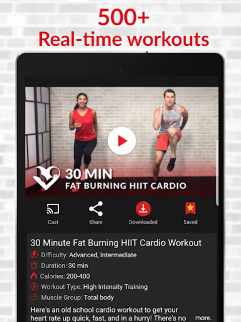 HASfit Home Workout Routines & Fitness Plans screenshot 8