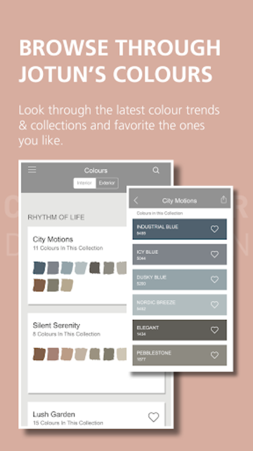 Jotun ColourDesign screenshot 2