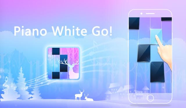 Piano White Go! - Piano Games Magic on Tiles screenshot 14