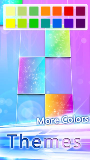 Piano White Go! - Piano Games Magic on Tiles screenshot 20