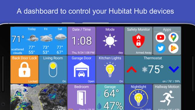 Hubitat Dashboard screenshot 11