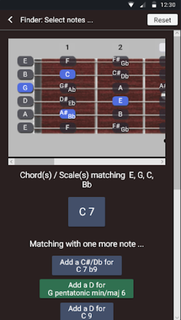 Guitar Chords and Scales screenshot 3