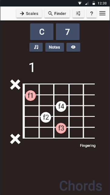 Guitar Chords and Scales screenshot 4