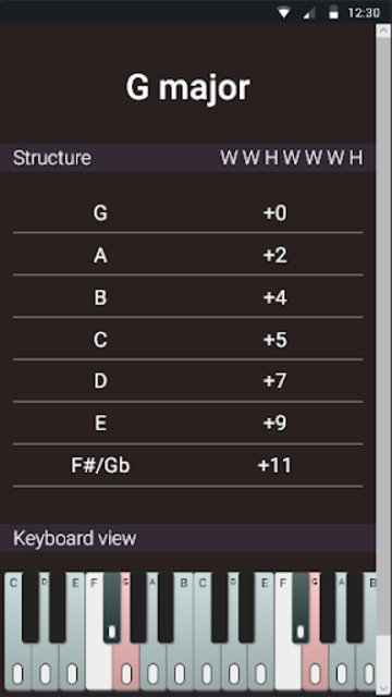 Guitar Chords and Scales screenshot 6