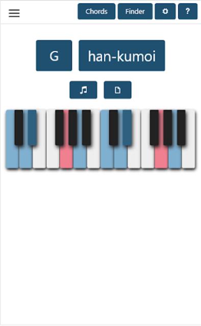 Piano Chords & Scales screenshot 3