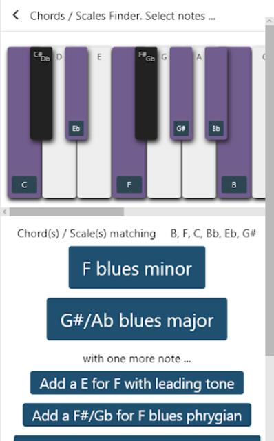 Piano Chords & Scales screenshot 5