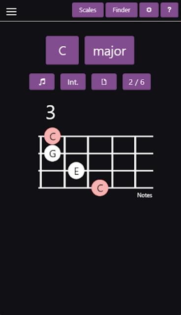Ukulele Chords & Scales screenshot 2