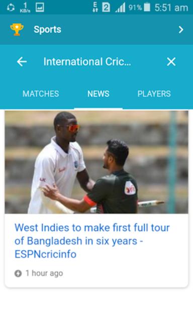 Live Cricket screenshot 2