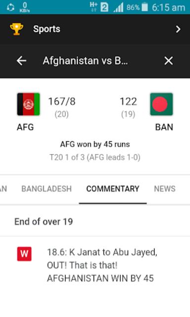 Live Cricket screenshot 6